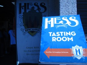 Hess Brewing Company in San Diego, CA