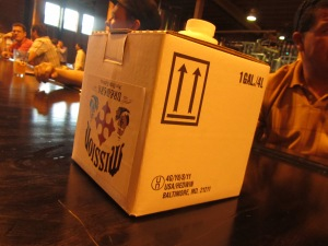 Mission Brewery Gallon of Boxed Beer