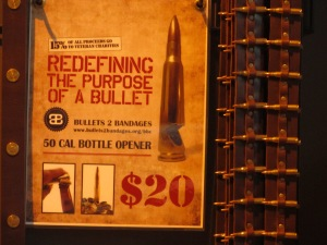 Mission Brewery sells Bullet Bottle Openers for Charity