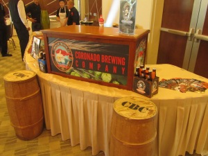 Coronado Brewing Company Booth