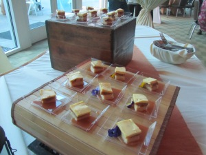 Yuzu Apple Petit Fours